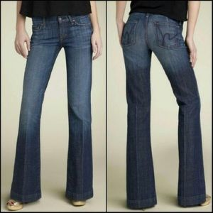Citizens Of Humanity 003 Faye Wide Leg Jeans